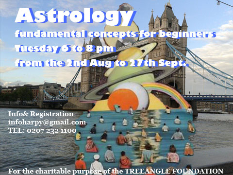 Astrology for Beginners. With Candelaria da Floresta & special guests Every Tuesday, 6pm - 8 pm