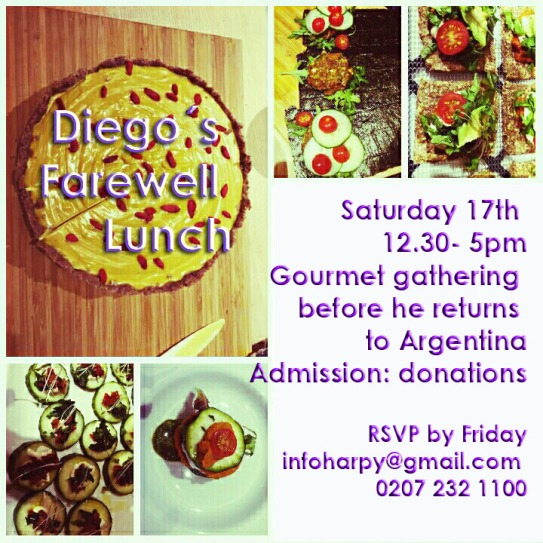 Diego´s Farewell lunch